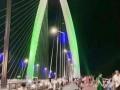 聊城开发区跨徒骇河大桥美不胜收